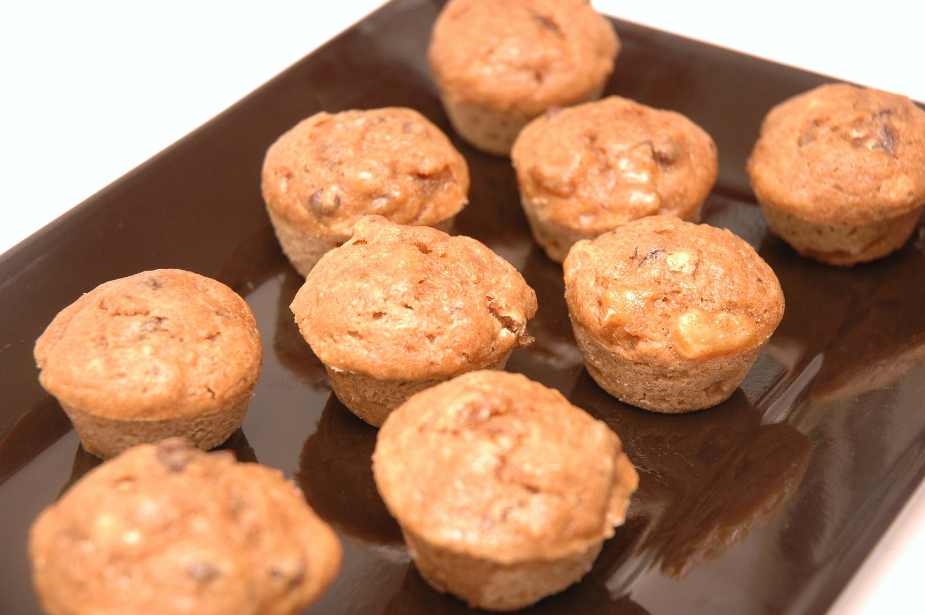 "Healthier"" Banana Peanut Butter Chocolate Chip Muffins Recipe ..."