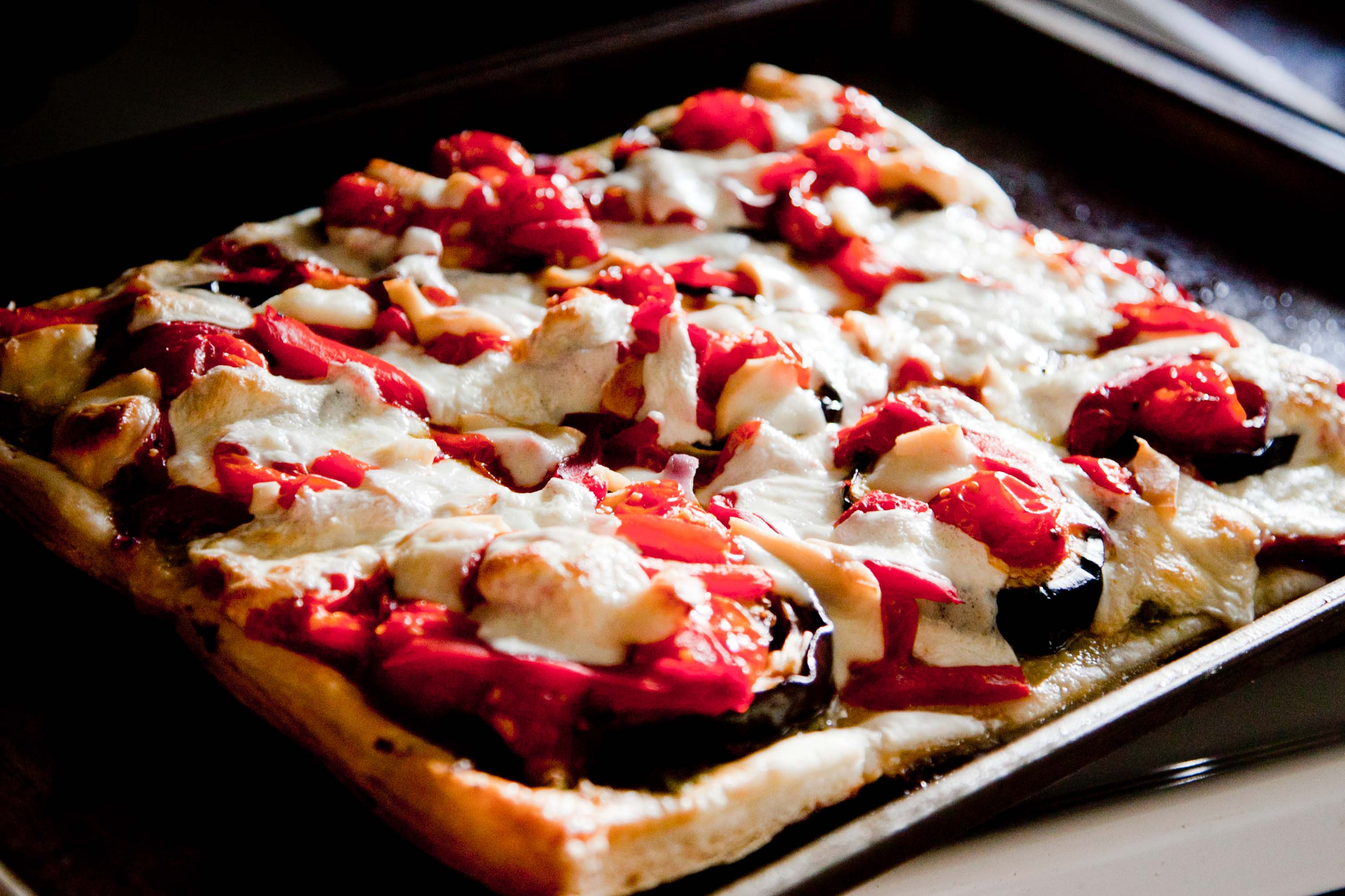 Roasted Vegetable Tart |