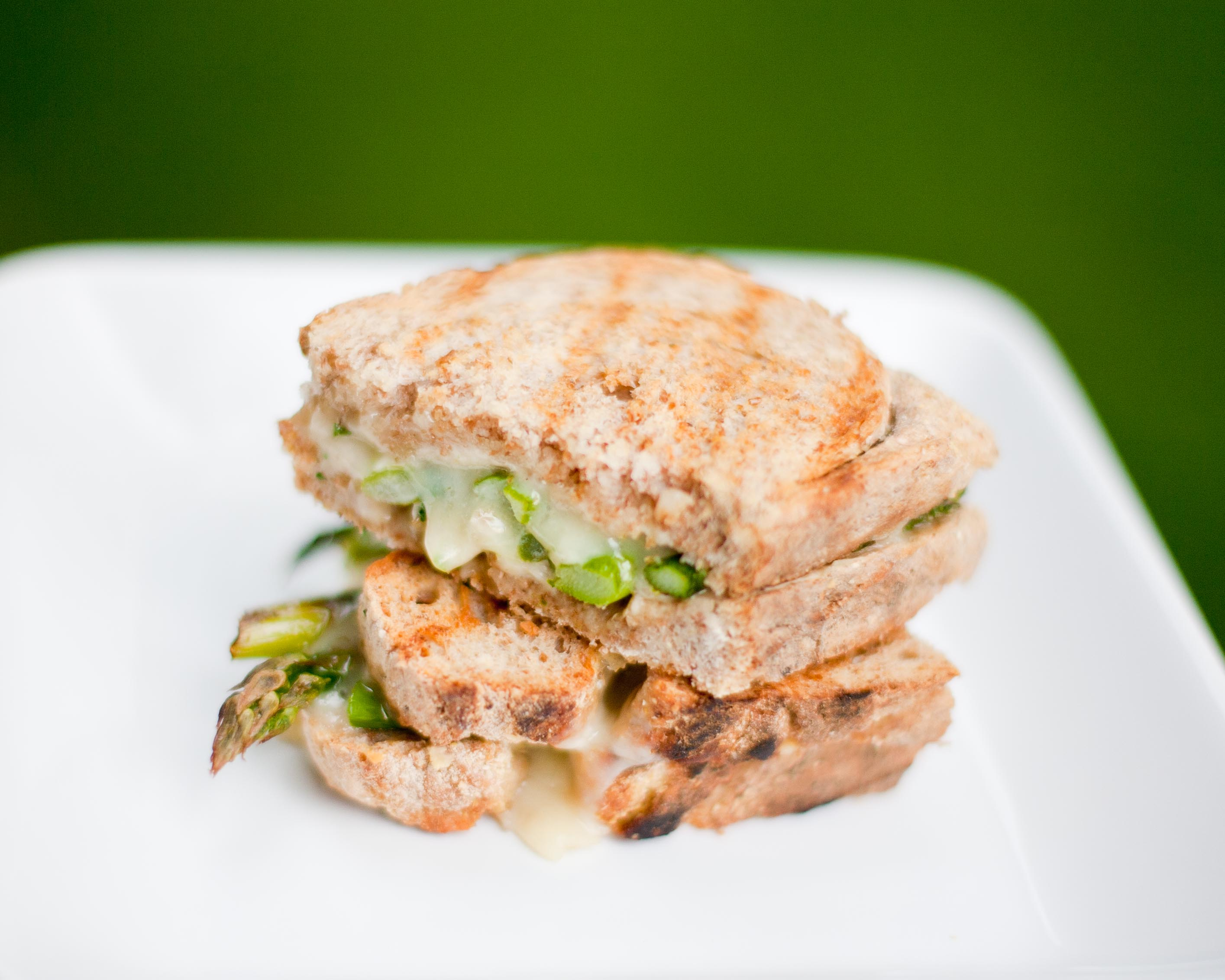 Asparagus Grilled Cheese |