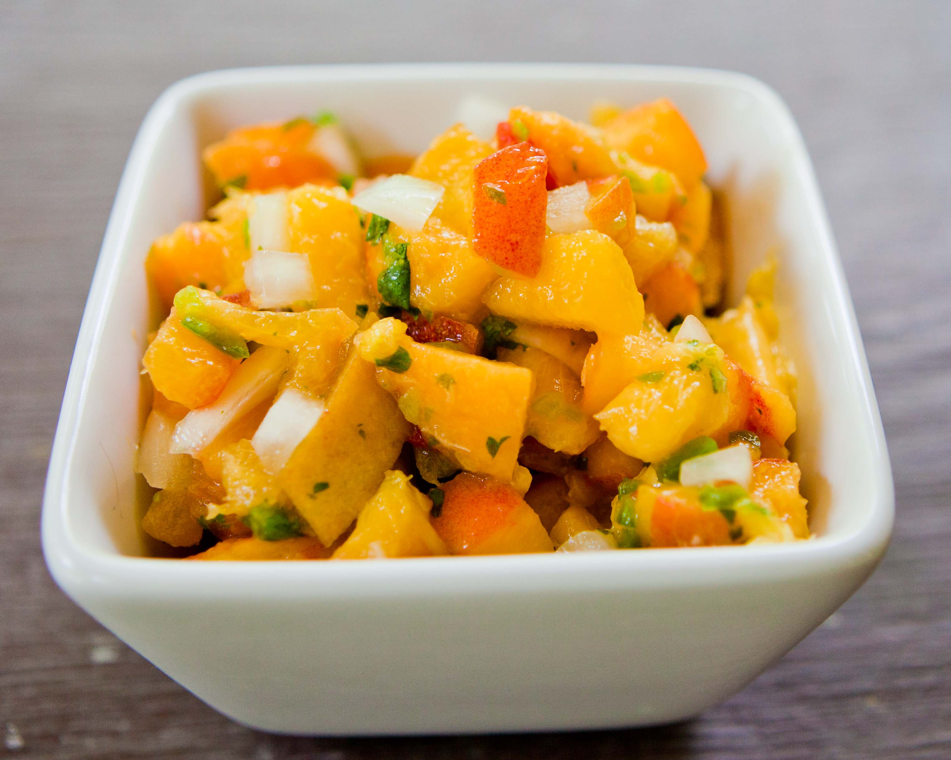salsa peach salsa and i ll tell you about fresh peach salsa peach ...