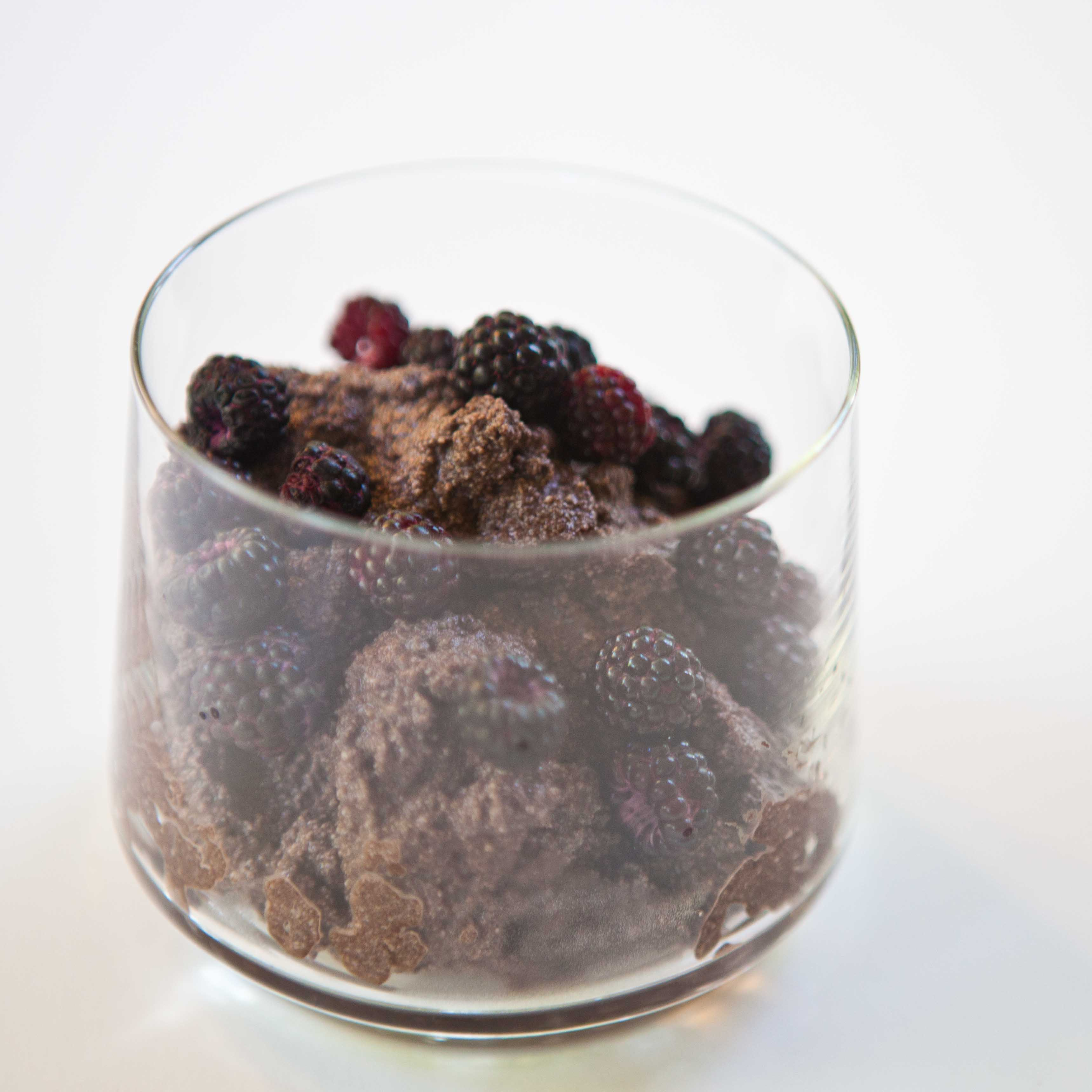 Chocolate Ricotta Mousse Recipe — Dishmaps