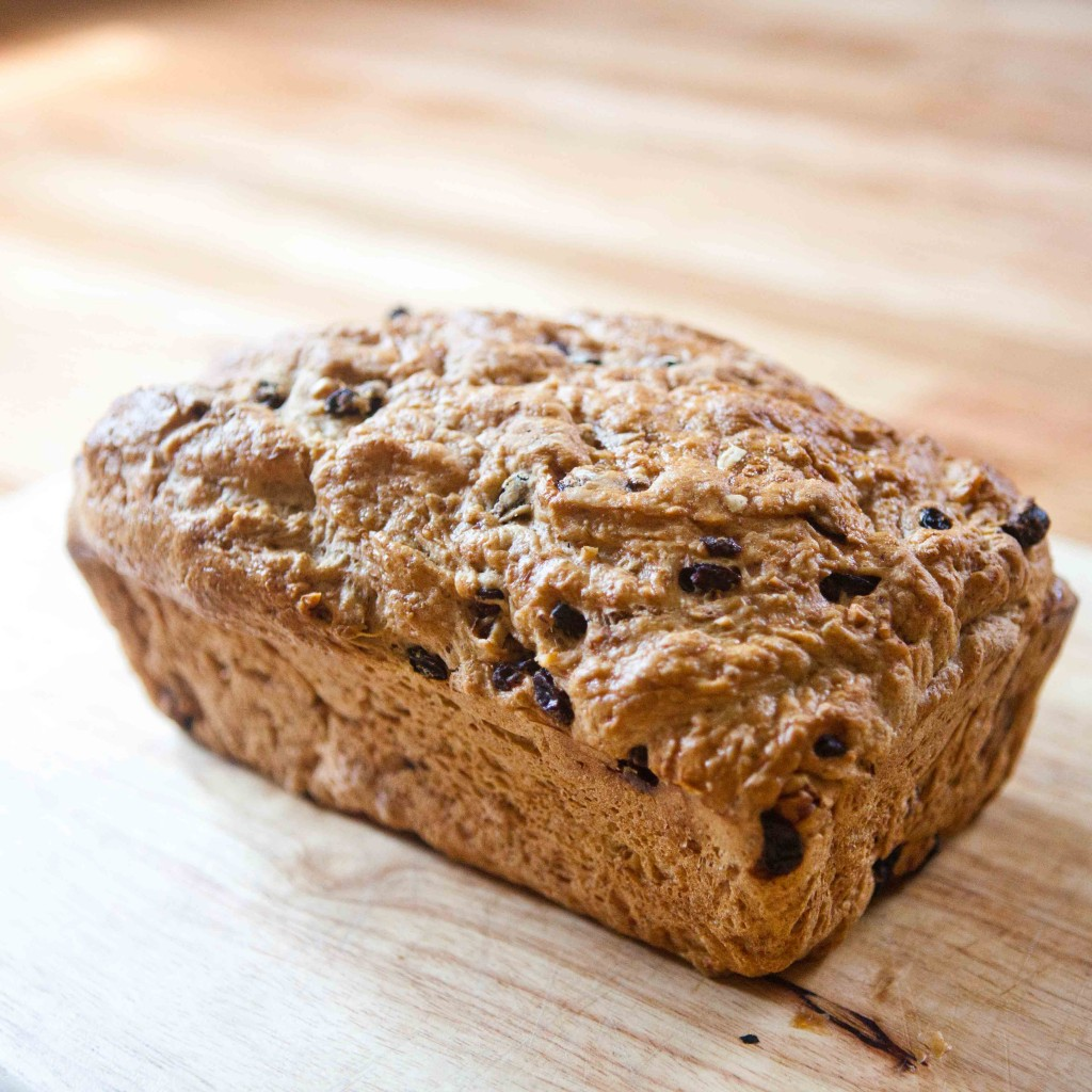Peeta's Raisin Bread - a loaf tossed to Katniss when they were both kids