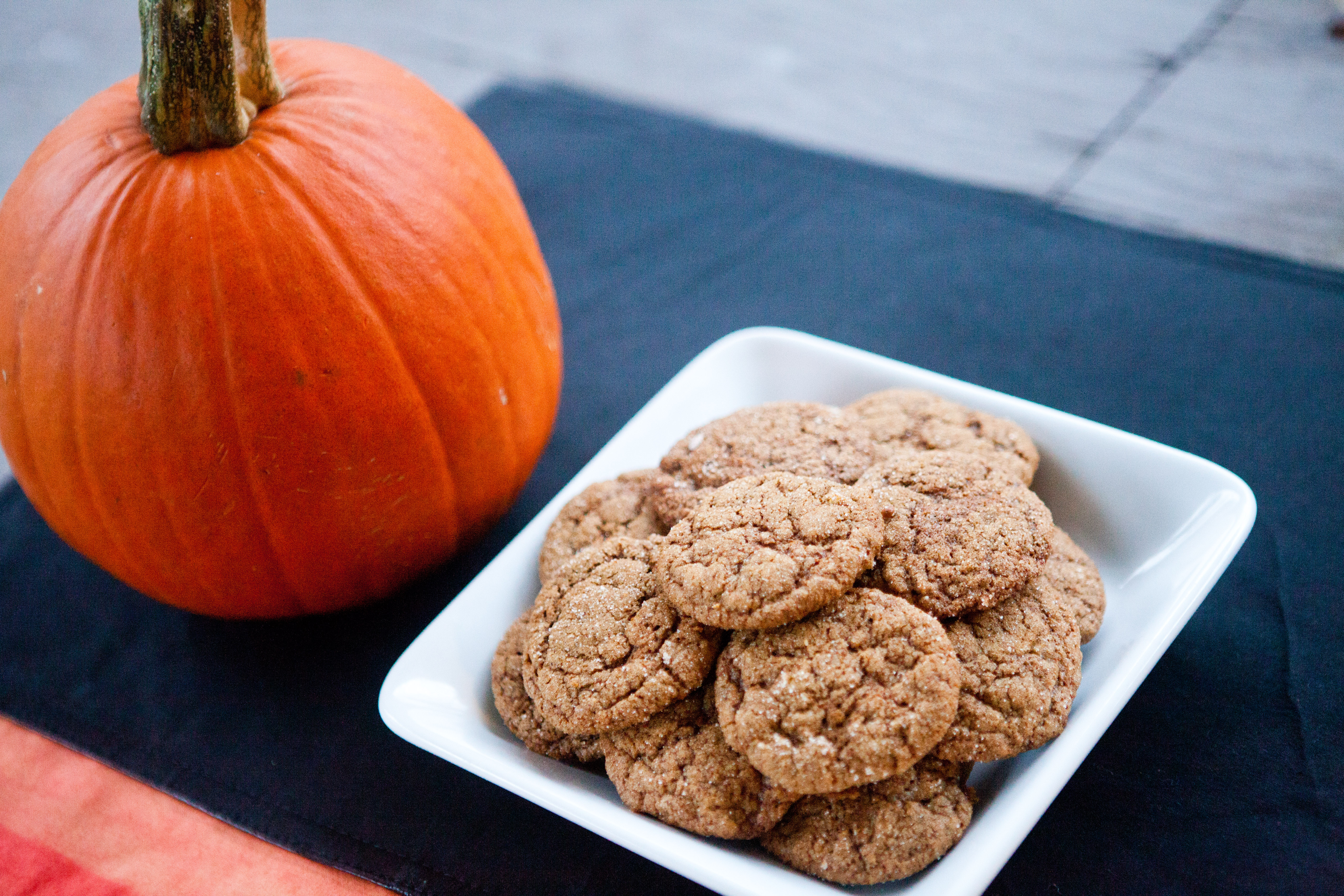 Pumpkin Gingersnaps |