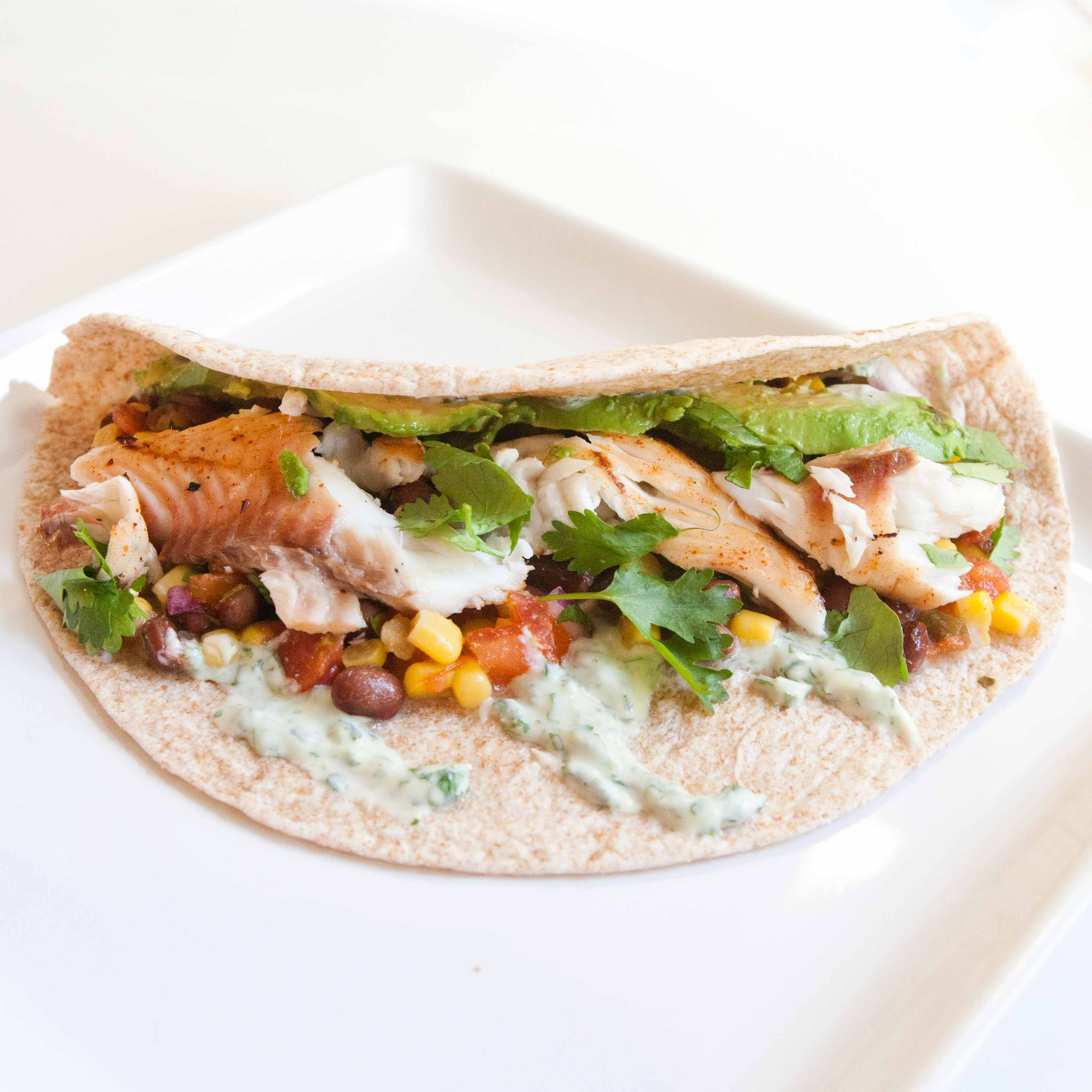 Grilled Fish Tacos Recipe — Dishmaps