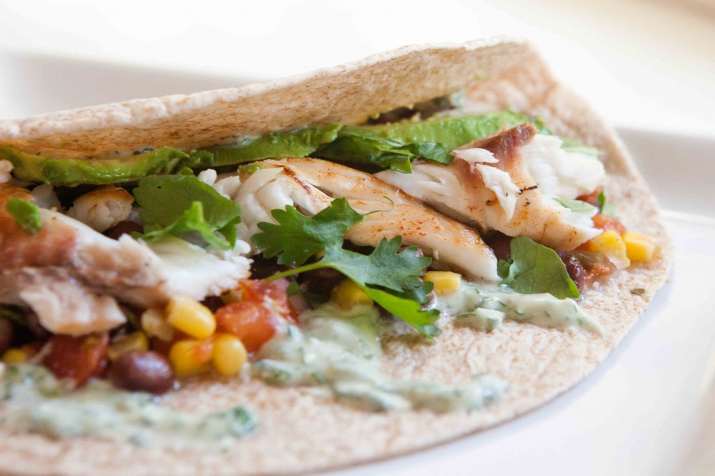 Grilled Fish Tacos |