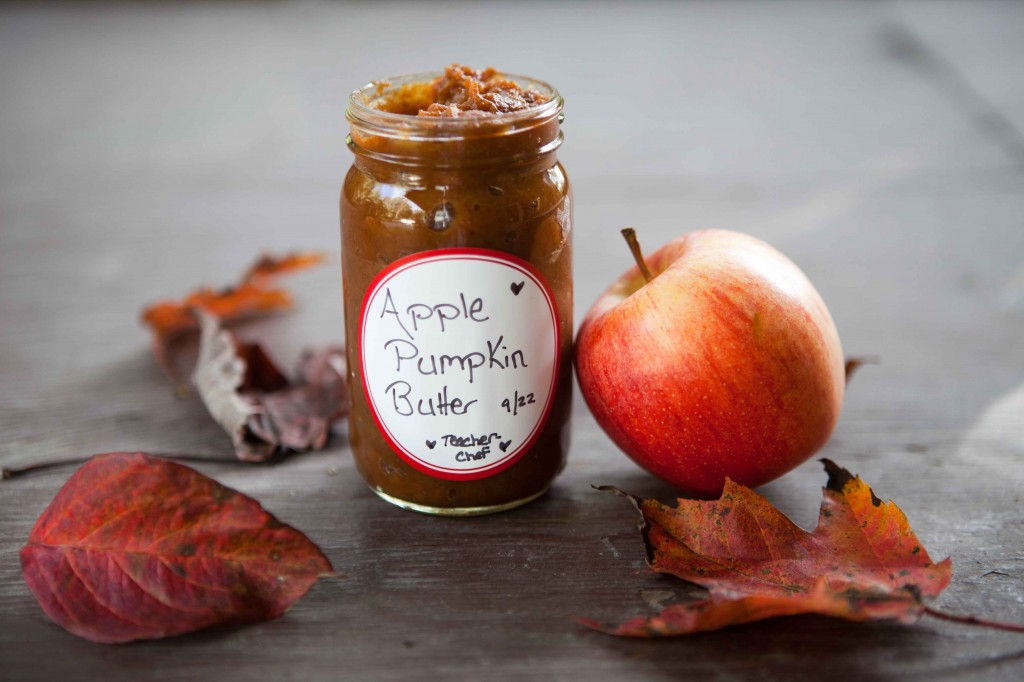 Crock Pot Pumpkin Apple Butter | via teacher-chef