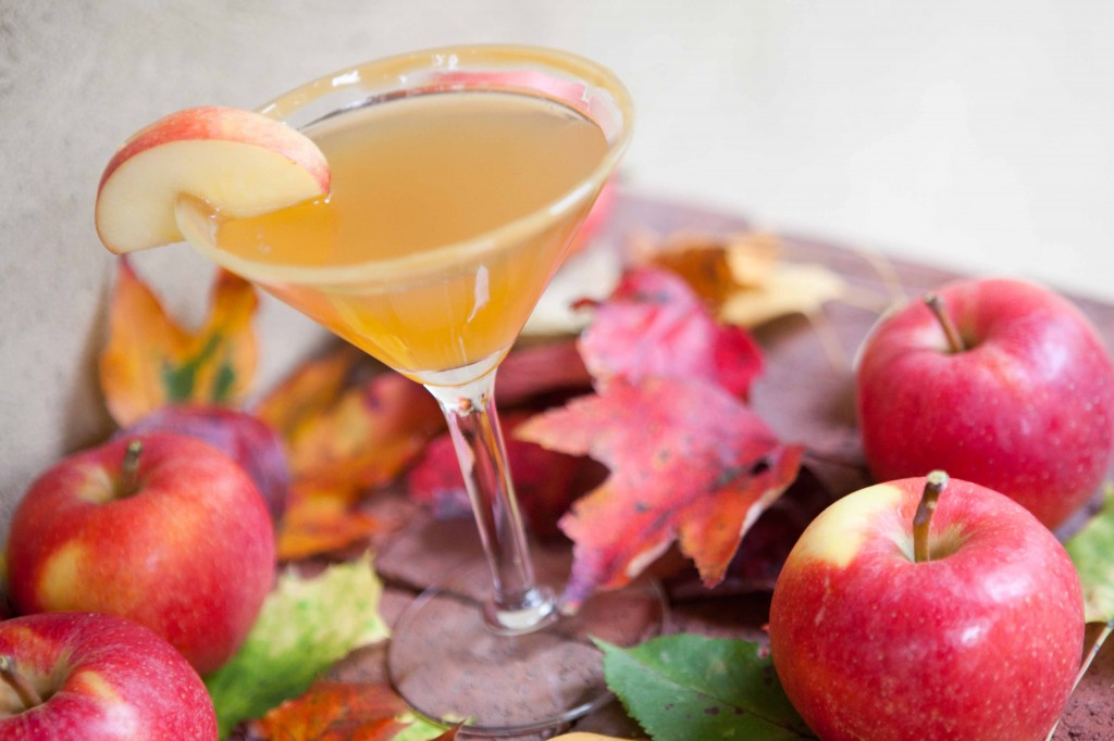 Apple Caramel Martini