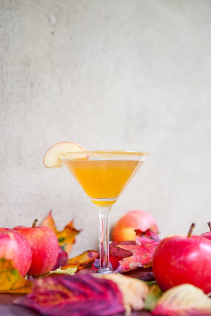 Celebrate Fall Caramel Apple Martini