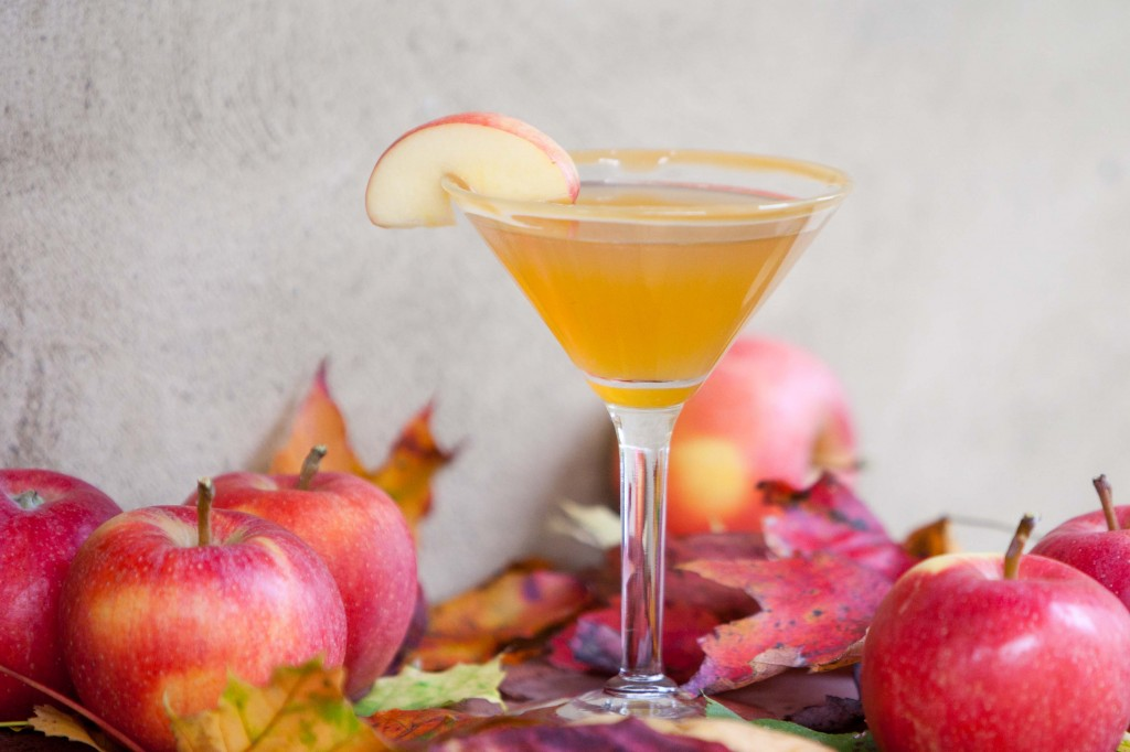 National Caramel Apple Martini