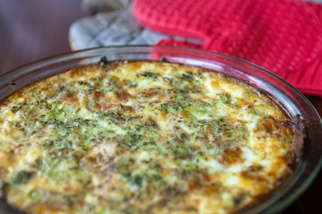 leftover mashed potato crusted veggie quiche