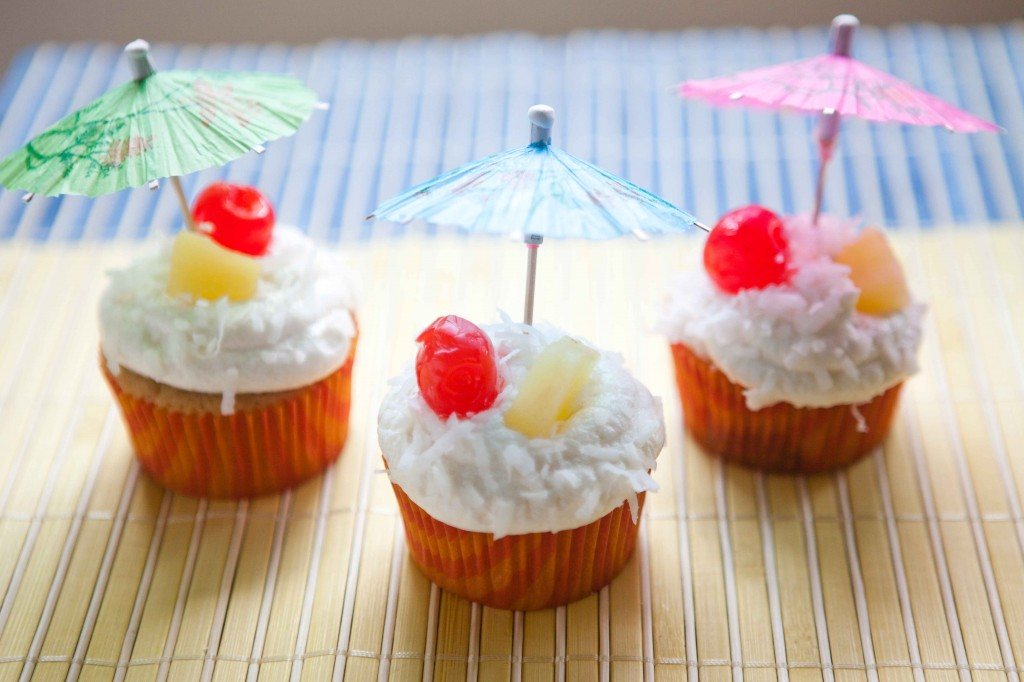 pina colada cupcakes-4579 | via teacher-chef