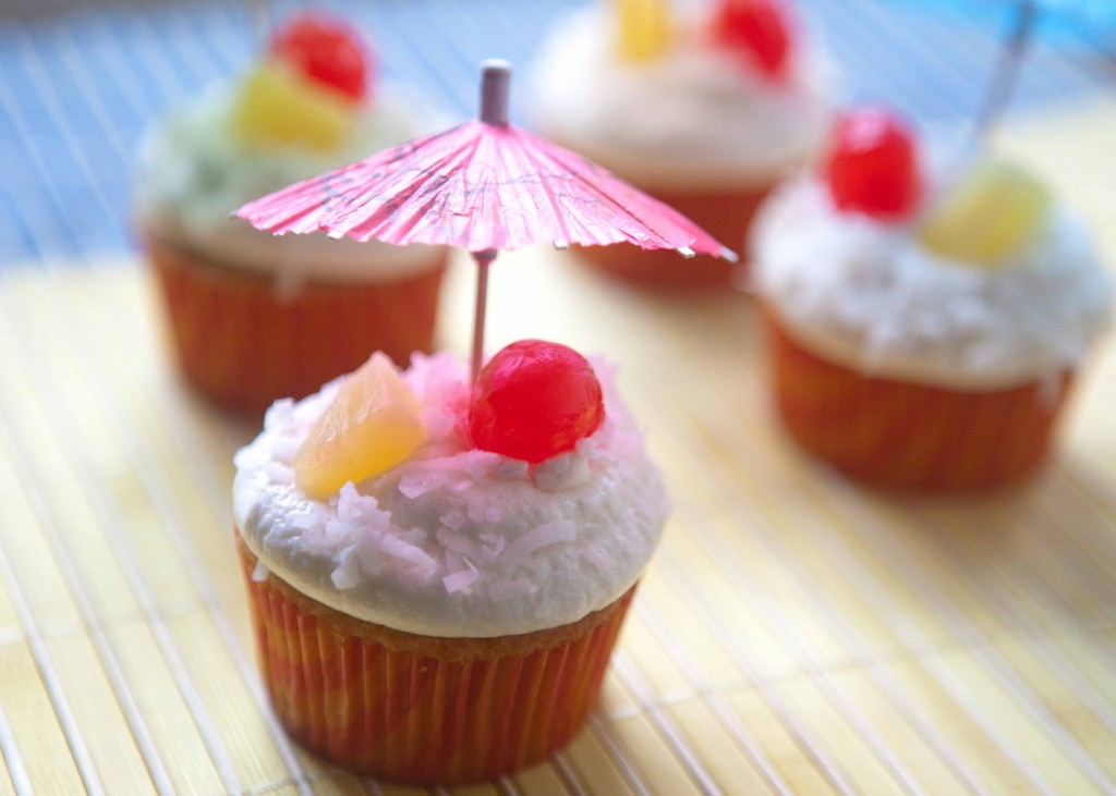 pina colada cupcakes-4587 | via teacher-chef