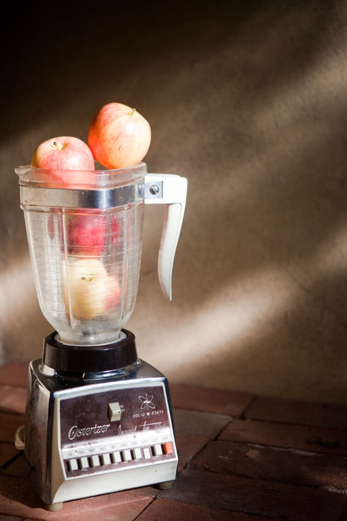 Apples in a Blender
