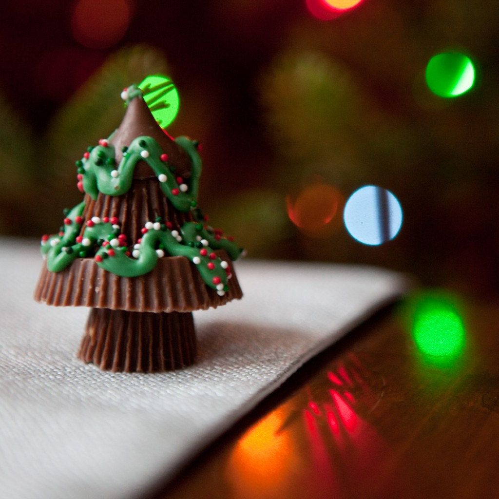 Stacked Reeses Tree