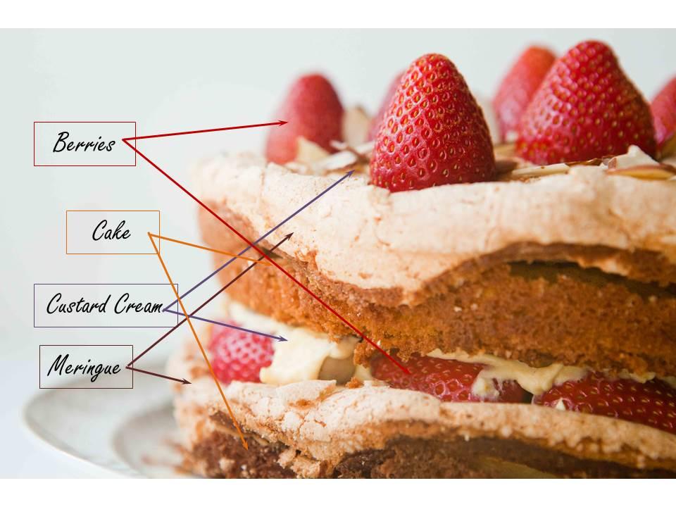 Chocolate Custard Layer Cake